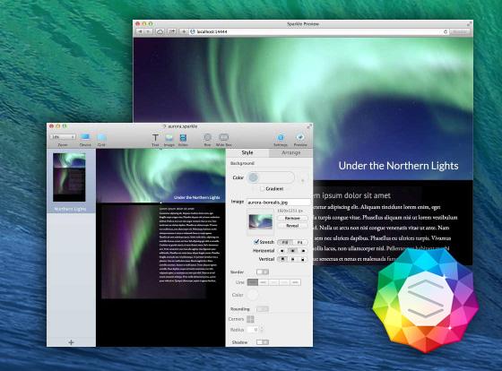 Sparkle Mac OSX   Nouvel Outil de Creation Web en WYSIWYG (gratuit ... cd4ffceb23f5