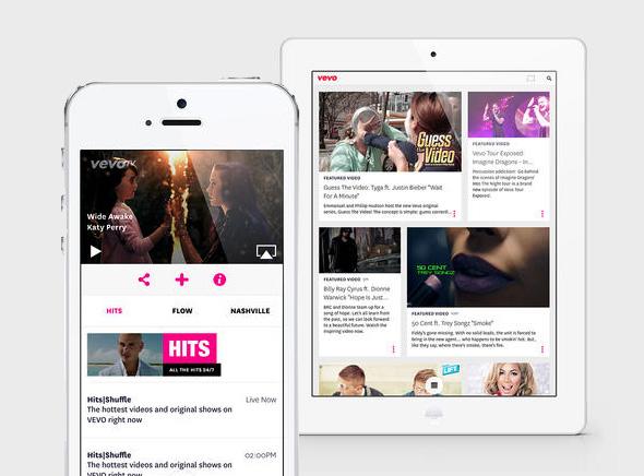 Vevo-iPhone-iPad-1