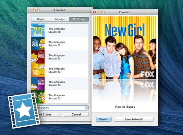Covered Mac OSX 1 - Covered Mac OSX : Télécharger en HD les Pochettes d'Albums, Films et Séries TV (gratuit)