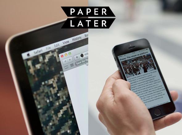 PaperLate com Journal Internet Papier 1 PaperLater, Faites Imprimer et Livrer votre Journal composé dArticles Internet (video)