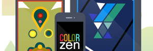 Color Zen iPhone iPad : Puzzle Game Abstrait et Relaxant (gratuit)
