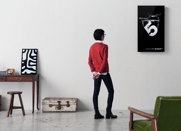 framed cadre numerique connecte interactif frm 1 - FRAMED, Cadre Connecté Interactif pour Arts Numériques (video)