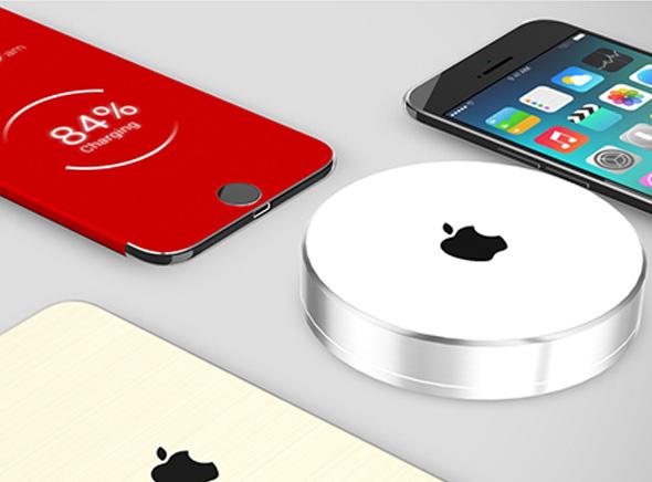 Concept iPhone 6 Pro avec Chargeur à Induction et iView Cover