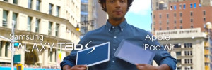 Les New Yorkais Preferent la Galaxy Tab S à l'iPad Air… Vraiment ?! (video)