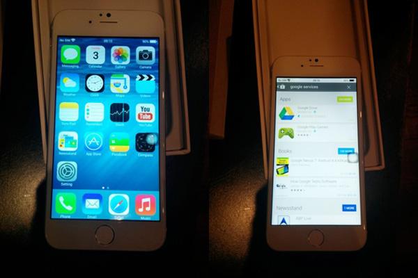 iPhone 6 Clone Android iOS 8 1 - Clone iPhone 6 vendu en Chine pour 110 € Déjà Déballé et Testé (video)