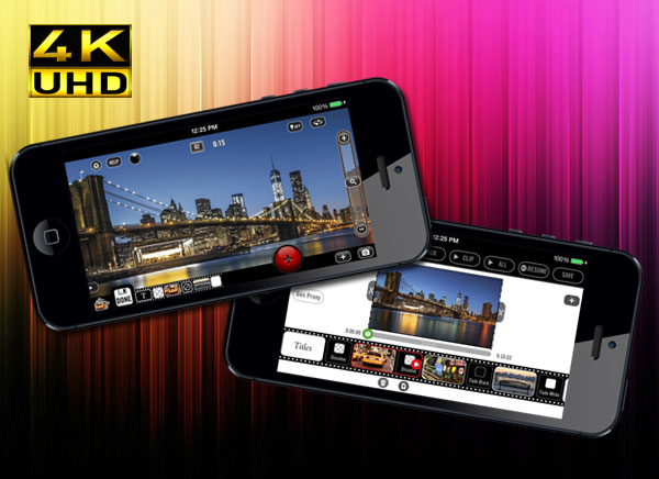 Vizzywig 4K iPhone 1 Vizzywig 4K iPhone : Filmer en Video UltraHD 4K pour 900 € (nouveau)
