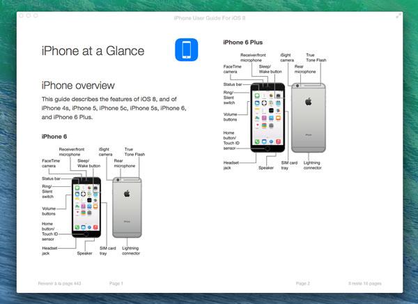 guides d utilisateur ios 8 pour iphone ipad et ipod touch gratuit rh maxiapple com Guide Utilisateur iPad manuel utilisateur iphone 4s