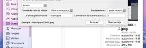 Astuce Mac OSX Yosemite : Renommer vos Fichiers par Lot (video)