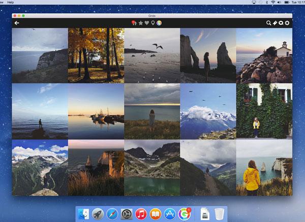 GRIDS Instagram Mac OSX 2 - GRIDS Mac OSX : Tout Instagram en HD sur votre Bureau (nouveau)