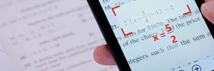 PhotoMath iPhone : OCR pour Resoudre vos Equations de Math (gratuit)