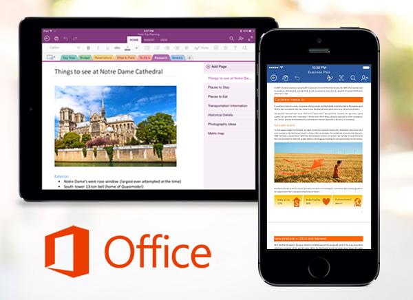 Suite-Microsoft-Office-Mobile-iPhone-iPad