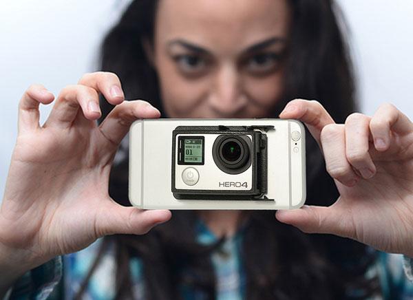 CAMpanion, Ajouter une Camera GoPro à votre iPhone 6 (video ...
