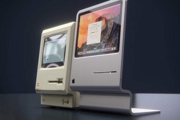 curvedlabs apple macintosh 2015 lisa concept 0 - Le Macintosh de 1984 Réincarné en iMac dans un Concept (images)