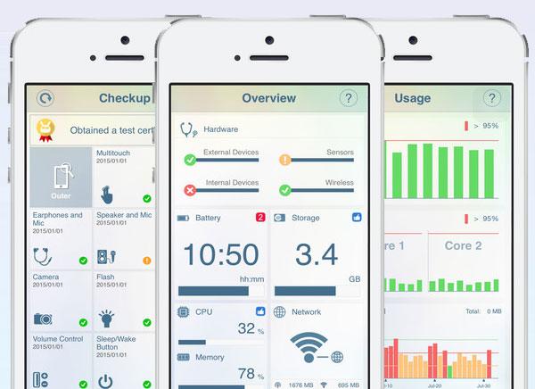 Phone Doctor Plus iPhone 1 - Phone Doctor Plus - Bilan Santé de vos iPhone et iPad (gratuit)