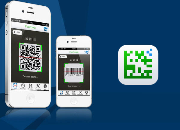 flashcode pour iphone