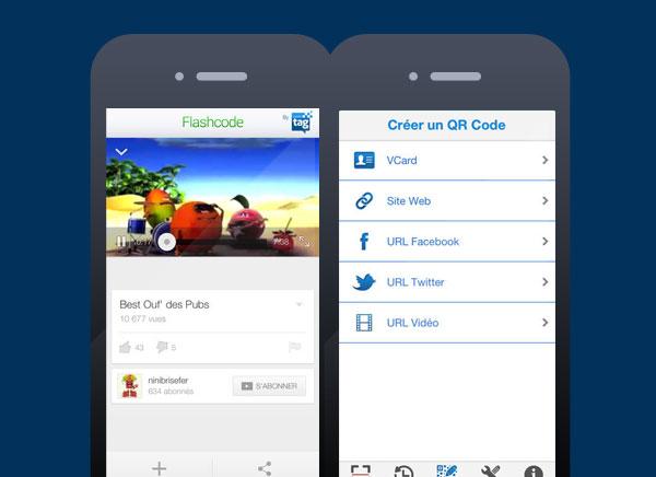 flashcode gratuit pour iphone