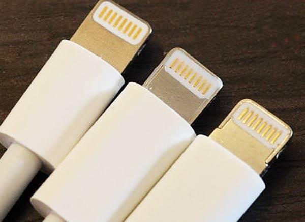 apple contrefacon cable lightning adaptateur 1 - Comment Reconnaitre un Vrai Cable Lightning d'un Faux (images)