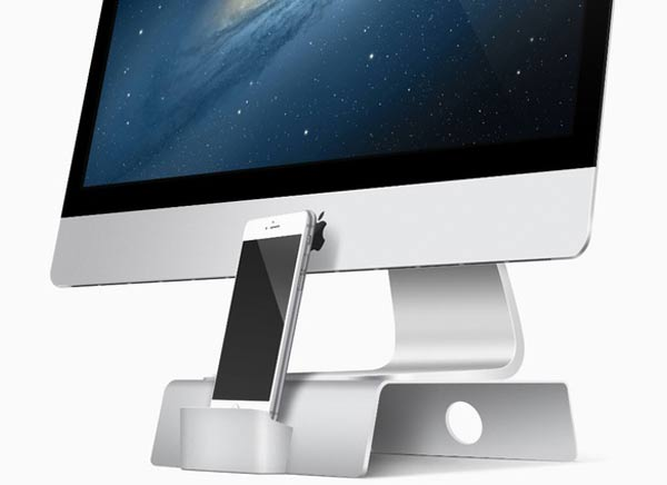 fusion stand support dock iphone imac 1 - FUSION Stand, le Support iMac avec Dock iPhone qu'il Manquait (vidéo)