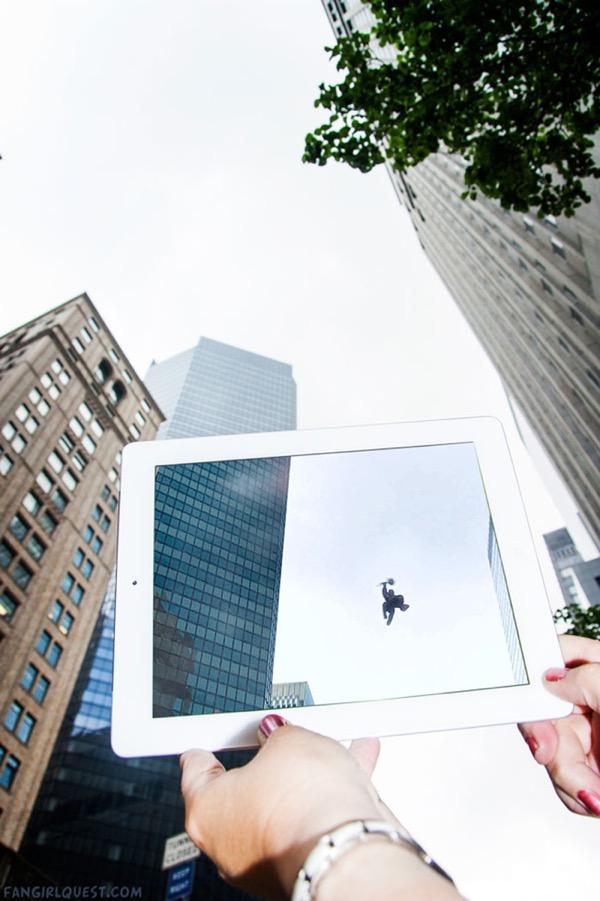 film culte lieu tournage ipad fangirlquest 1 - Ces Filles et leur iPad sur le Lieu de Tournage des Films Cultes (images)