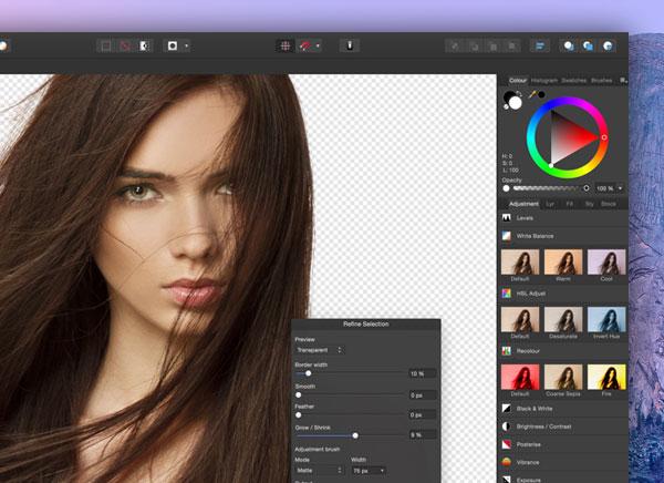 Affinity Photo Mac OSX 1 - Affinity Photo Mac OSX : Le Photoshop Killer Dispo en Bêta (gratuit)