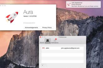 Aura Mac OSX