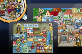 Emil-&-Pauline-in-the-City-iPad