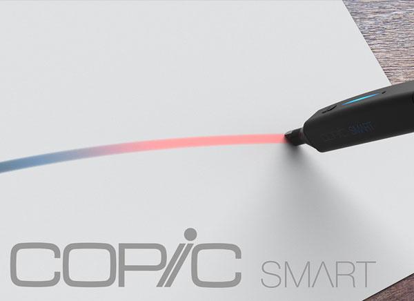copic smart stylo jet encre burov art 1 - COPiC Smart, Feutre Connecté aux Millions de Couleurs (images)