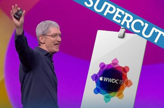 wwdc supercut wwdc 2015 keynote 1 331x219 - Les Nouveautés WWDC 2015 en 2 Minutes Chrono (video)