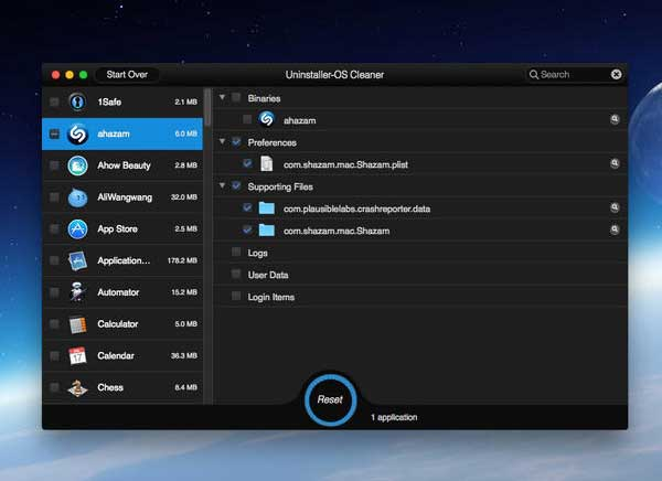Uninstaller OS Cleaner Mac OSX 2 - Uninstaller OS Cleaner Mac : Desinstaller Proprement vos Logiciels (gratuit)
