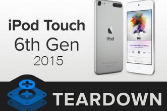 ipod touch 6 demontage ifixit 1 331x219 - iPod Touch Édition 2015 : Démontage Ardu sans Surprises (video)