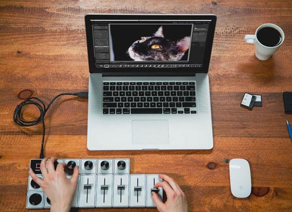 palette gear console photographe modulable 1 - Palette, 1ere Platine de Mixage pour la Retouche Photo (video)