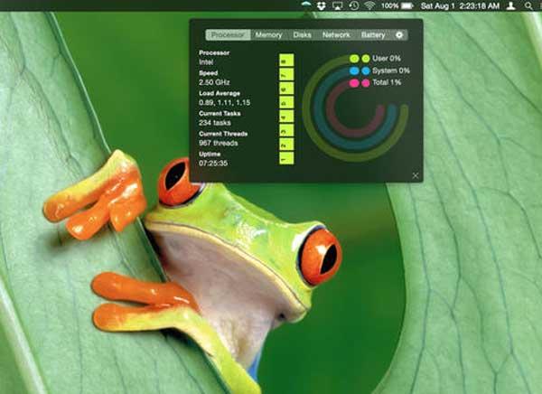 InstaStats Mac OSX 1 - InstaStats Mac - Utilitaire de Diagnostic Multifonctions (gratuit)