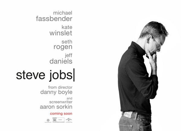 steve jobs biopic affiche film michael fassbender 1 - Affiche Officielle du BioPic Steve Jobs avec Fassbender (images)