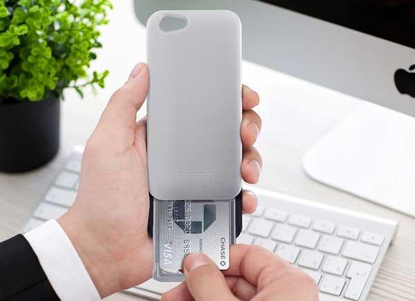 gresso protection porte carte iphone 6 6s 1 - Gresso, Protection Phone 6s avec Porte-Cartes Automatique (video)