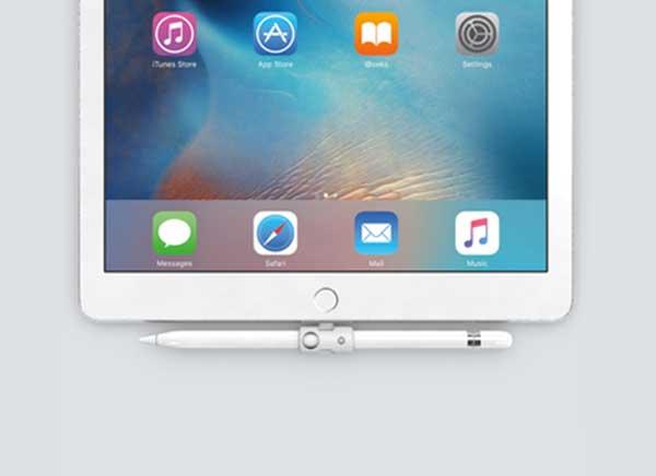 quarter support ipad pro apple pencil stylet 1 - Quarter, le Support pour Stylet Apple Pencil et iPad Pro (video)