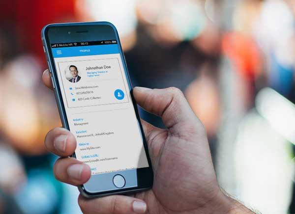 Shake IPhone Secouer Pour Partager Votre Carte De Visite Gratuit