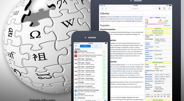 Kiwix iPhone iPad : Tout Wikipedia sans Connexion Internet (gratuit)