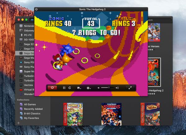 OpenEmu Mac OSX 1 - OpenEmu Mac - Emulateur Consoles Nintendo, xBox, PS3, Atari (gratuit)
