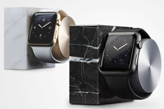 native union dock marbre montre apple watch marble 0 331x219 - Dock en Marbre pour la Montre Apple Watch (images)