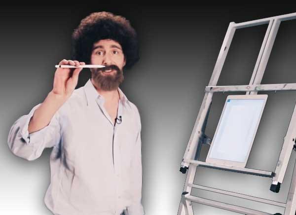joy sketching adobe photoshop sketch ipad pro 1 - Voici Comment Dessiner sur iPad Pro et Photoshop Sketch (video)
