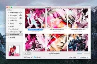 InstaBro Mac OSX 1 331x219 - InstaBro Mac OSX : Télécharger Toutes les Photos Instagram (gratuit)