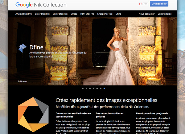 nikcollection filtres photo mac osx pc gratuit 1 - Tous les Filtres Photoshop NIK Collection Mac / PC sont Gratuits