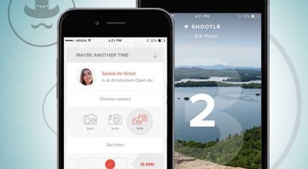 Shootlr iPhone : Photographiez avec le Smartphone d'un Contact (gratuit)