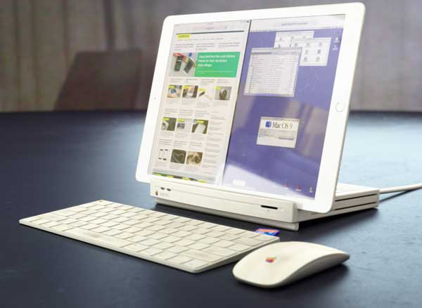 dock macintosh lc mac station accueil ipad pro 1 - Retour du Macintosh LC en Station d'Accueil pour iPad Pro (video)
