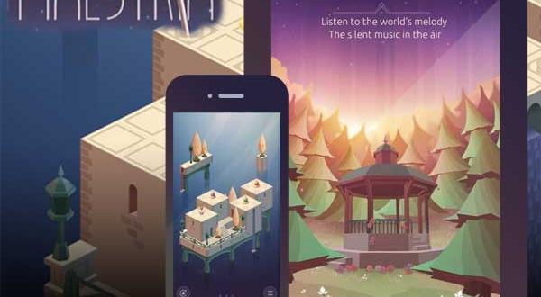 Jeu Maestria iPhone iPad : Poétique Puzzle Game en 3D (gratuit)