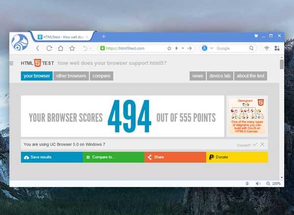 Navigateur UC Browser Mac OSX : Alternative Française à Chrome