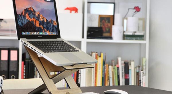 Flio Up, Support en Bois 3 en1 pour MacBook et iPad (video)