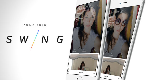 Polaroid Swing iPhone : Photos Animées et Selfies 3D (gratuit)