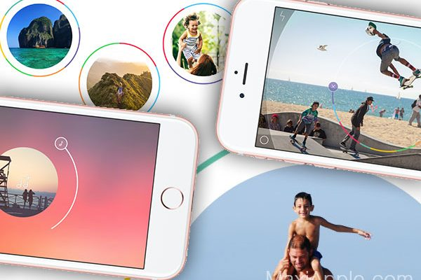 Spark Camera & Video Editor pour iPhone