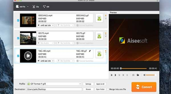 Video to GIF Maker Mac : Vos Vidéos en Images GIF Animées HD (nouveau)
